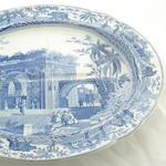 A Spode pearlware tree and well meat dish Circa 1820