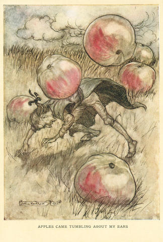 RACKHAM (ARTHUR) SWIFT (JONATHAN) Gulliver's Travels, NUMBER 362 OF 750 COPIES signed by the illustrator, 1909