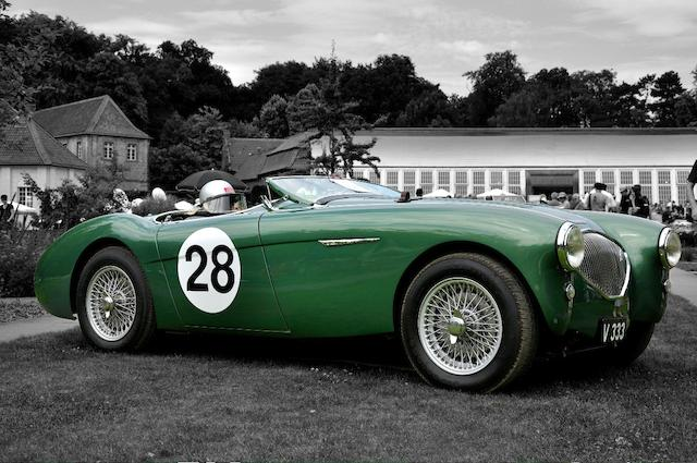 The 10th production and alloy bodied,1953 Austin-Healey 100 BN1 Roadster  Chassis no. 138040 Engine no. 1B 139008