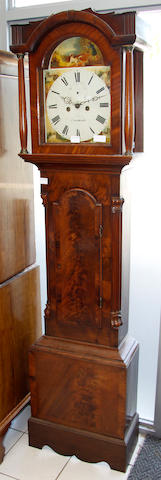 An early 19th Century mahogany eight day longcase clock by Beha of Norwich