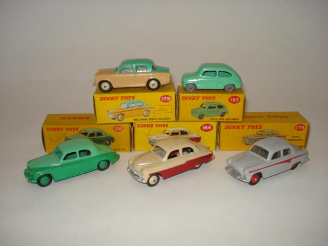 Dinky Saloon cars 5