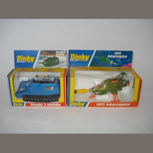 Dinky Gerry Anderson U.F.O vehicles 2