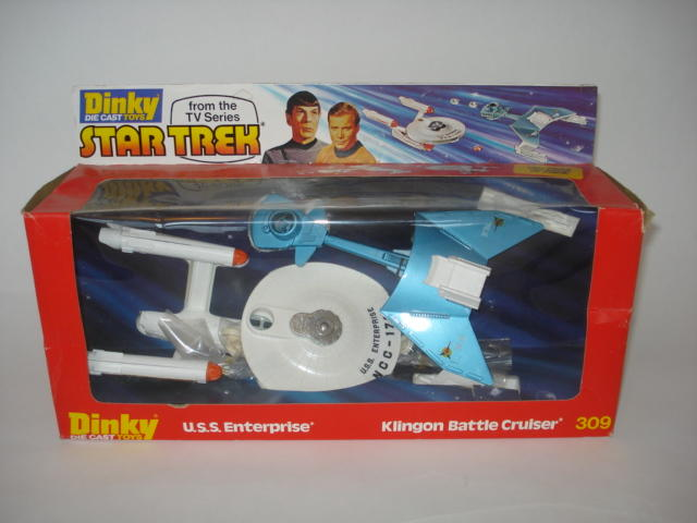 Dinky 309 Star Trek gift set
