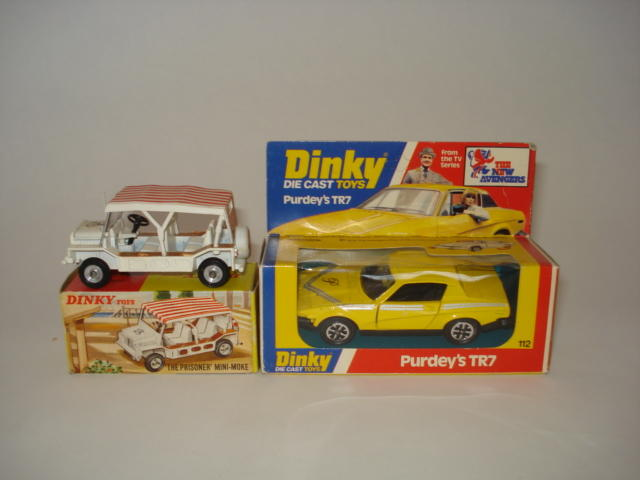 Dinky 106 The Prisoner Mini-Moke 2