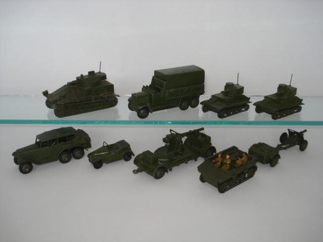 Dinky USA export and English market Military vehicles 10