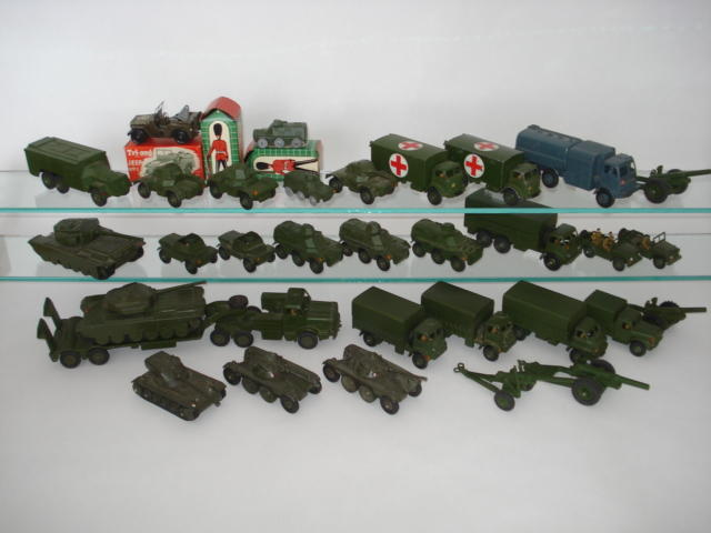 Dinky Military vehicles lot