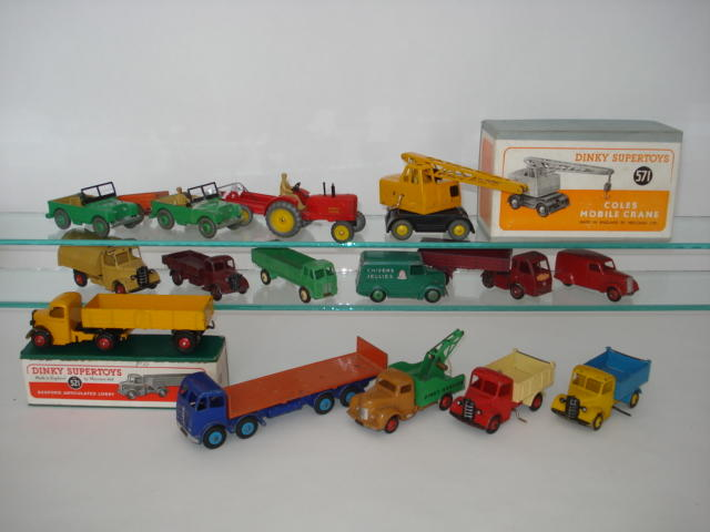 Dinky Commercials lot