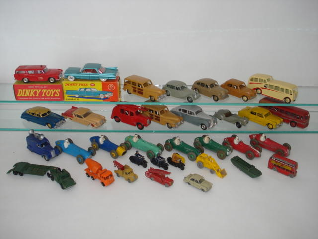 Dinky cars and other toys lot