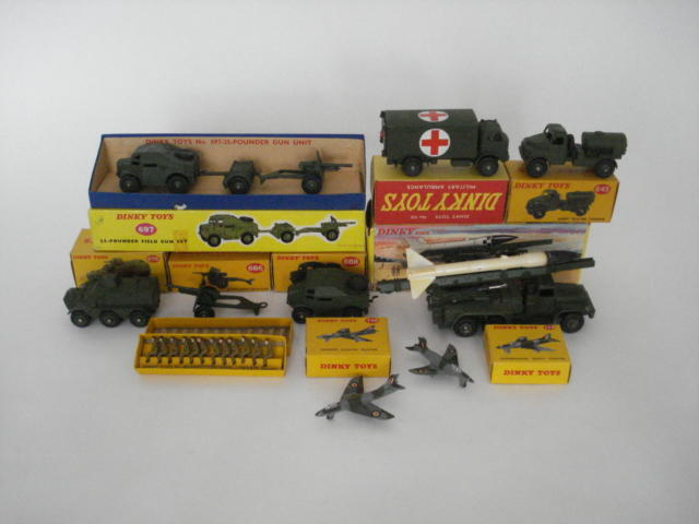 Dinky Military vehicles 10