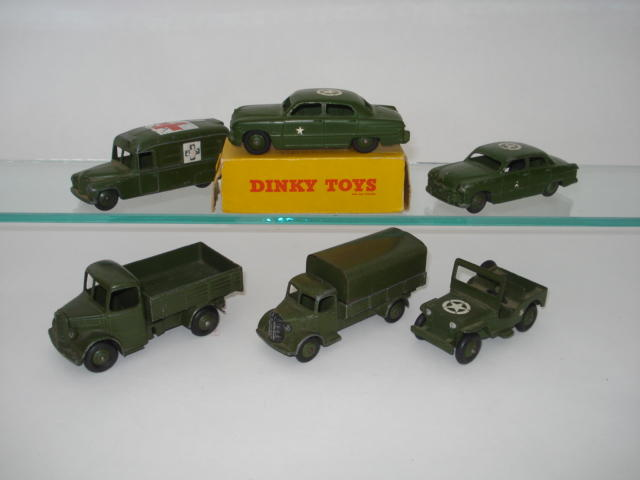 Dinky US issue Military vehicles 6