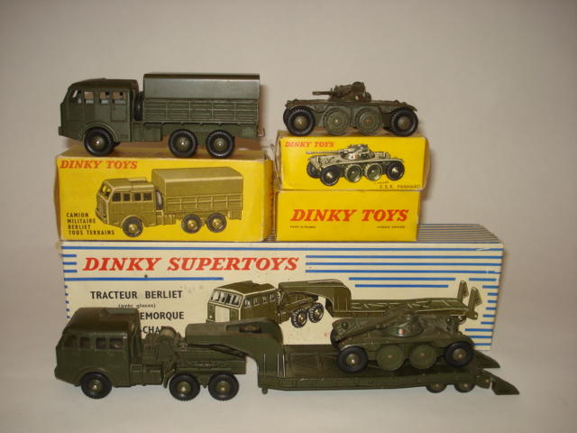 French Dinky Military vehicles 4