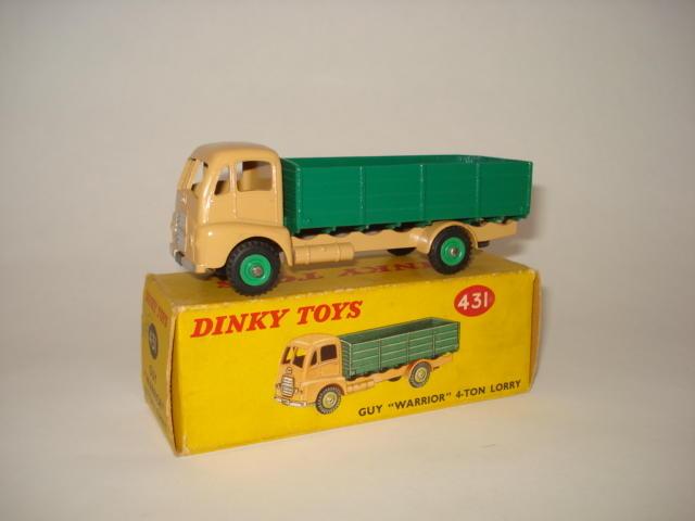 Dinky 431 Guy Warrior 4-ton lorry