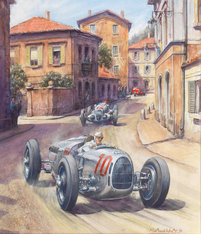 Michael Wright (1935-) '1937 Coppa Acerbo',