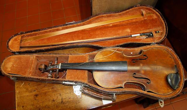 A Stradivarius copy violin