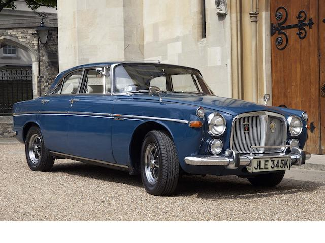 1971 Rover 3.5-Litre P5B Coupé  Chassis no. 84505638D Engine no. 84014615