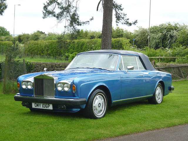 1976 Rolls-Royce Corniche Convertible  Chassis no. DRH23397 Engine no. 23397