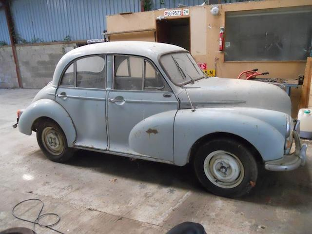 1967 Morris Minor 1000 Saloon   Chassis no. MA55117808 Engine no. 247904
