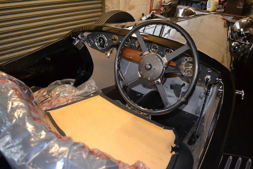 c.1936 Alvis Speed Twenty-Five Tourer  Chassis no. 13131 Engine no. 13581