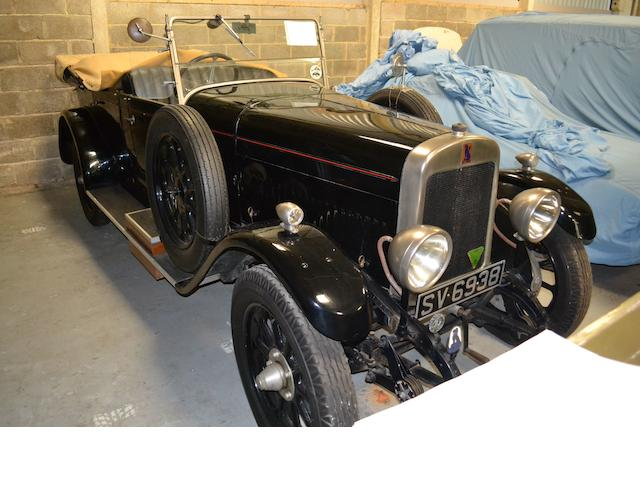 1927 Bean 18/50hp Tourer  Chassis no. 52175 Engine no. 6762