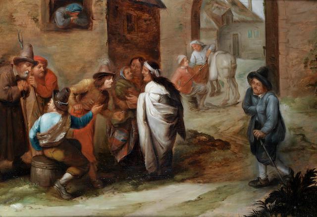 Monogrammist H.C. (active Antwerp 17th Century) The Fortune Teller
