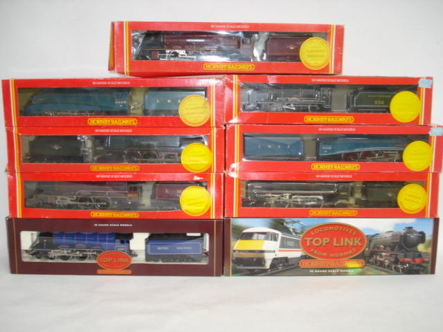 Hornby Railways Top Link and Ltd Edition locomotives