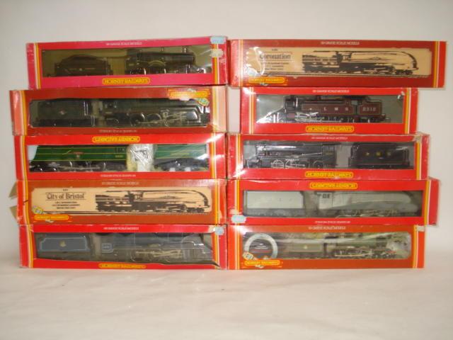 Hornby Railways locomotives 10