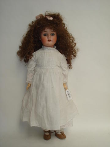 Schoenau & Hoffmeister 914 bisque head doll