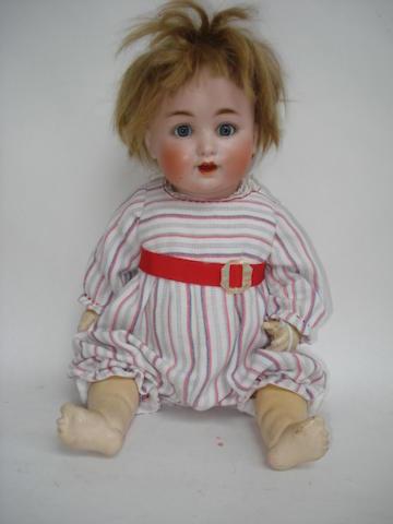 Catterfelder Puppenfabrik 201 bisque head baby