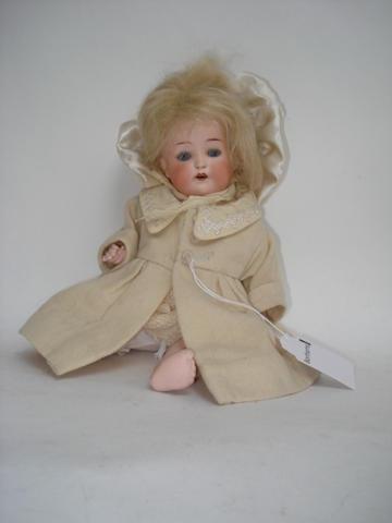 Heubach Koppelsdorf 320 bisque head baby