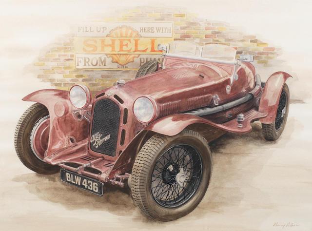 Murray Potter, '1932 Alfa Romeo 8c Monza',