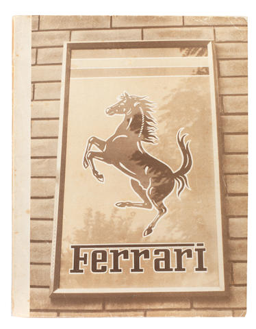A 1951 Ferrari Yearbook,