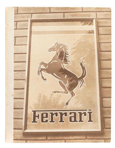 A 1951 Ferrari Yearbook,