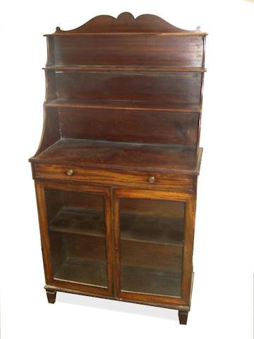 A 19th century mahogany chiffonier