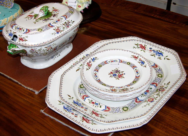 A Copeland Spode part dinner service