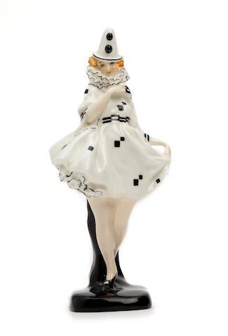 A Doulton Burslem 'Pierette' figure, circa 1924-1938