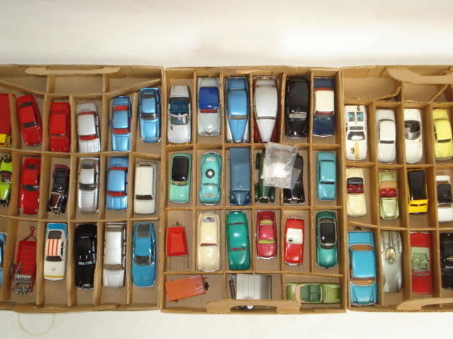 Collection of repainted toys by Corgi, Spot-on and others approx 70