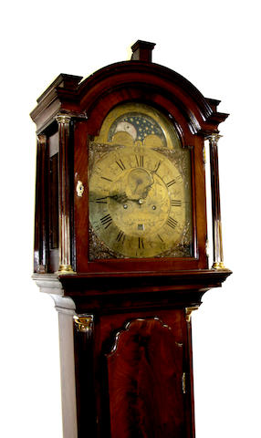 James fenton, London: A George III mahogany longcase clock