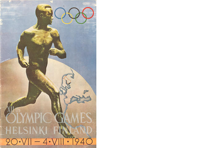 Ephemera - 1940 Cancelled Olympics