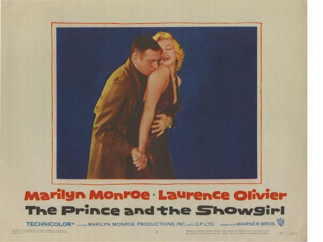 A collection of lobby cards,  titles including:6