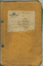 Clark Gable: An original script for 'Never Let Me Go', dated April 1953, 3