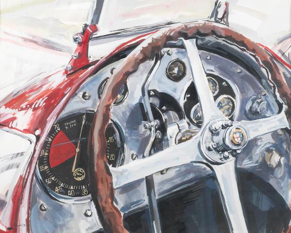 Helen Taylor (1968-) 'Alfa Romeo cockpit',