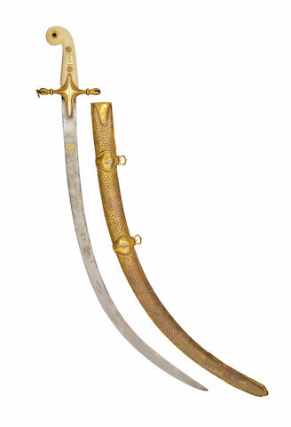 An Unusual Ormolu-Mounted Naval Presentation Sabre Of Admiral Sir Edward Pellew, 1st Viscount Exmouth