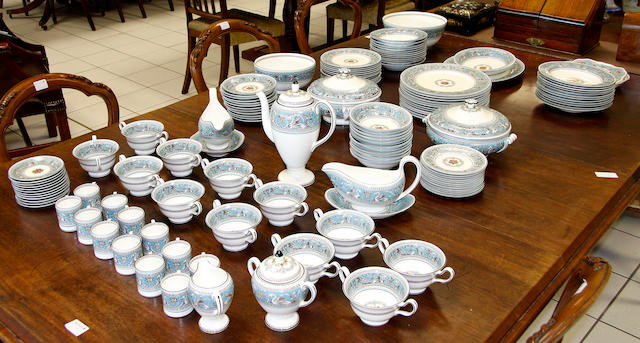 An extensive Wedgwood 'Florentine' pattern dinner service
