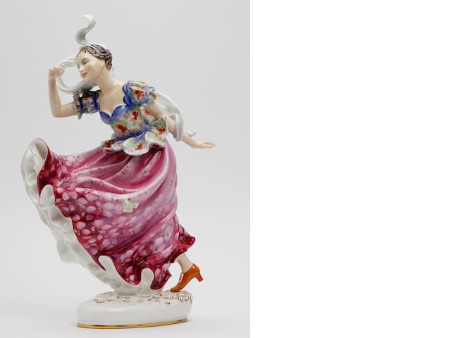 Figurines A Royal Doulton figure, 'Columbine'