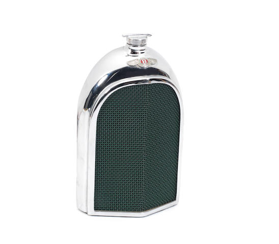 A Bentley radiator decanter, by Ruddspeed, British, 1960s,