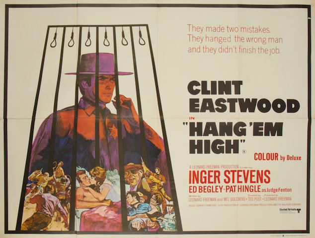 Clint Eastwood: A collection of twenty-one posters, titles including:21