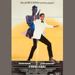A View To A Kill,  United Artists, 1985,