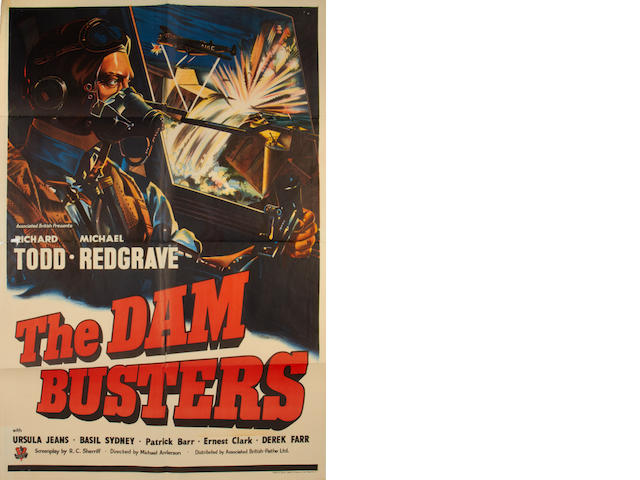 The Dam Busters, British one-sheet poster,