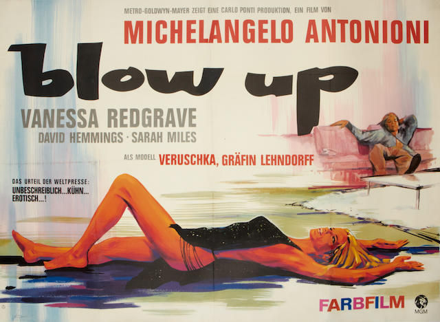 Blow Up, Bridge Films, 1966,