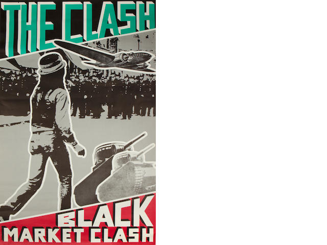 The Clash; A promotional poster,